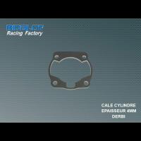 Cale de cylindre Racing Factory ép. 4mm DERBI