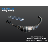 Echappement Racing Factory 2015 RIEJU 80/85cm3
