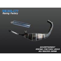 Echappement Racing Factory 2015 DERBI 80/85cm3
