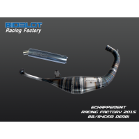 Echappement Racing Factory 2015 DERBI 88/94cm3