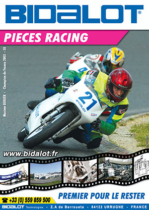 catalogue pieces racing